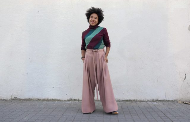 María Elisabeth Trousers Dusty Pink - LR3
