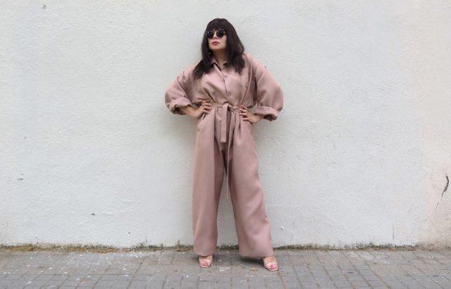 Mia Miranda Méndez Overall Dusty Pink - LR3