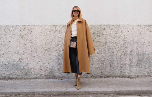 Tere Granado Coat Camel - LR3