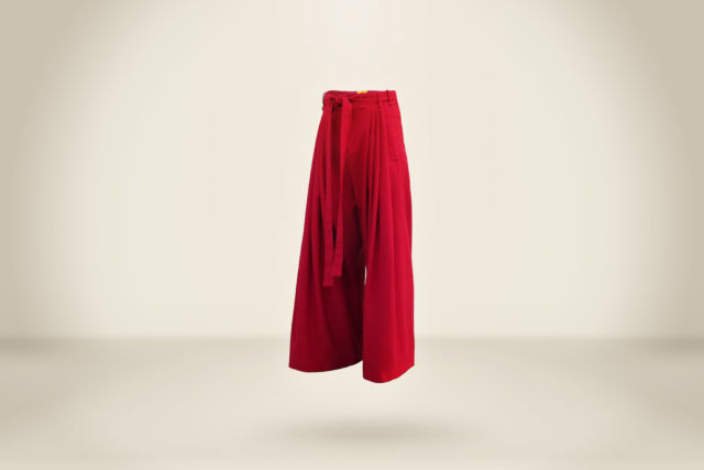 Euris Ovalles Trousers Deep Red - LR3