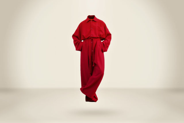 Makoke  Overall Deep Red - LR3