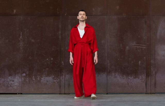 Juanma Overall Deep Red - LR3