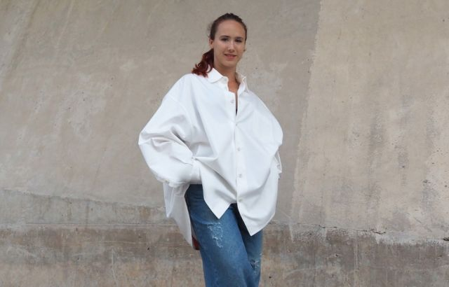 Alma Steiner Shirt White - LR3