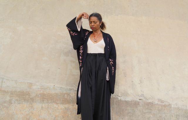 Christina Kapongo Trousers Black - LR3