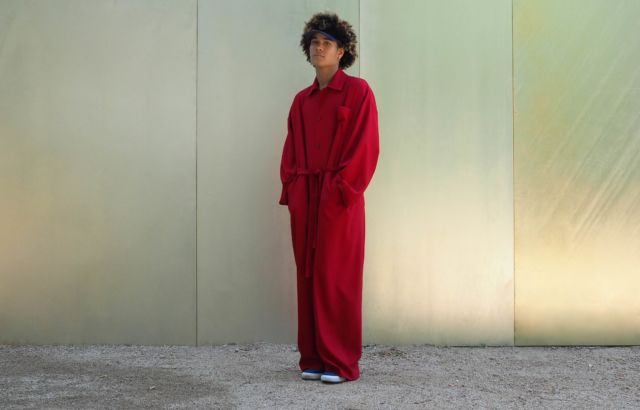 Deep Red Overall - LR3
