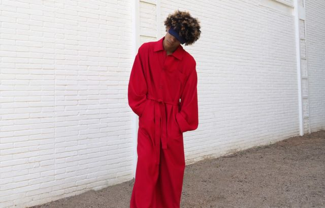Euris Ovalles Overall Deep Red - LR3