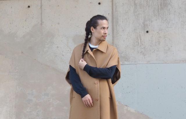 Sleeveless Camel Coat - LR3