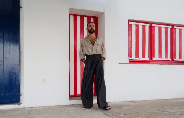 Pedro Campello trousers black - LR3