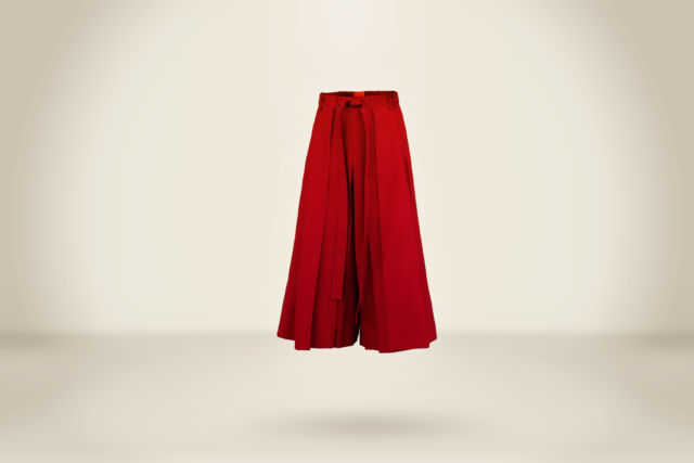 Deep Red Hakama  - LR3