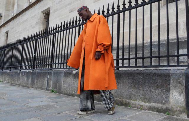 Bachir Raincoat Orange - LR3