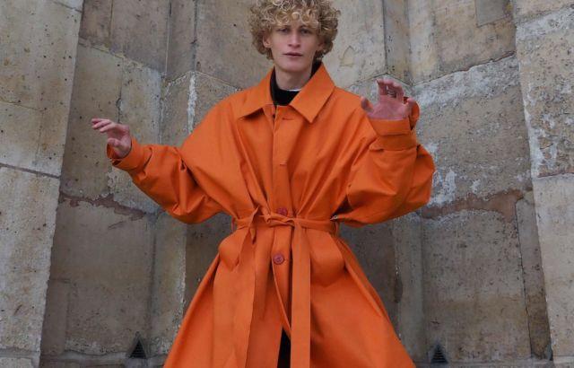 Kyle Dow Raincoat Orange - LR3