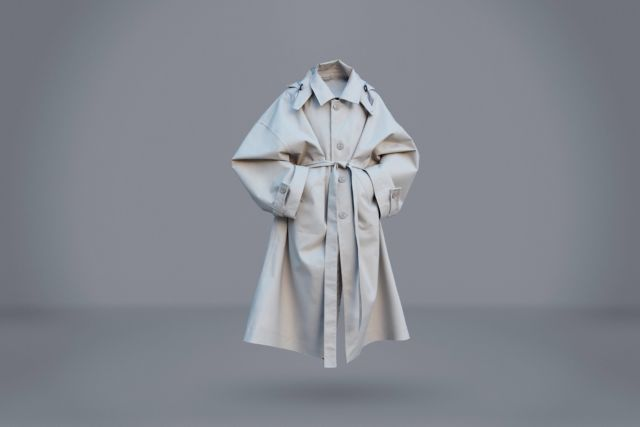 Gray Raincoat  - LR3