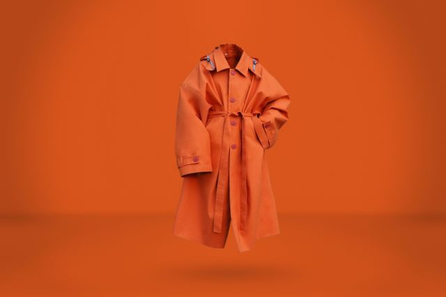Orange Raincoat - LR3