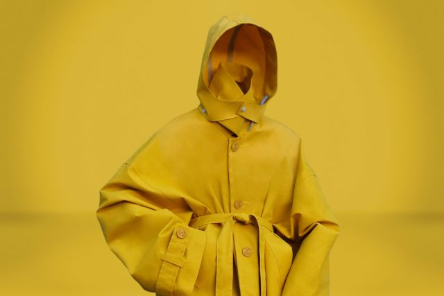 Sira Niamé Raincoat Yellow - LR3