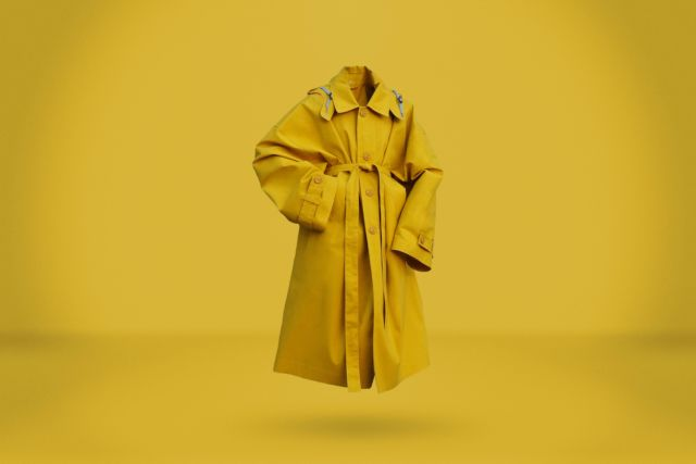 Yellow Raincoat - LR3