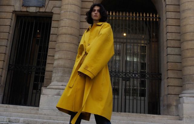 Lucas Salandra Raincoat Yellow - LR3