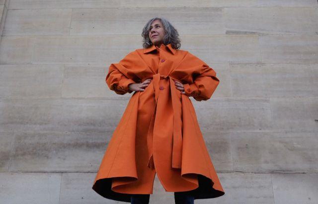 Orange Raincoat - LR3