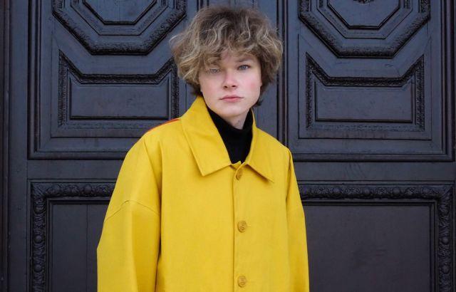 Victor Scarnier Raincoat Yellow - LR3