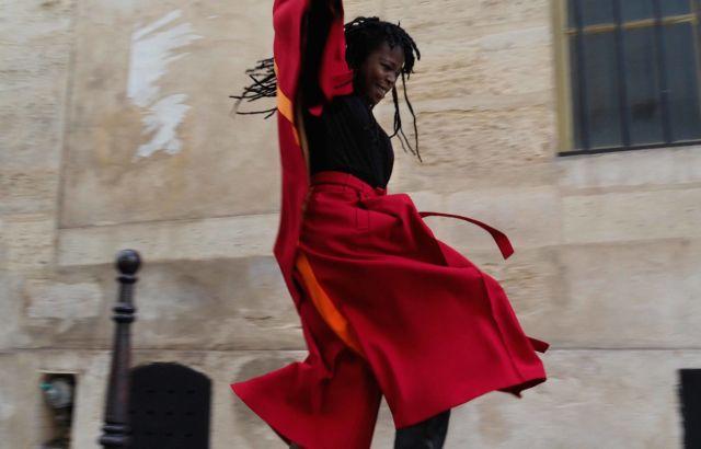 Sira Niamé Hakama Deep Red - LR3