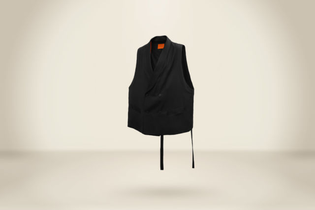Gabriel Ventura Vest Black - LR3