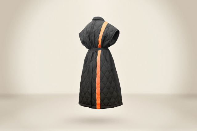 Sleeveless Padding Coat - LR3