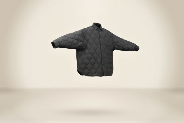 Julen Obiols Padding Black Shirt - LR3