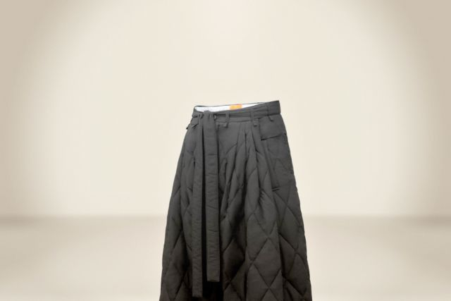 Black Padding Trousers - LR3