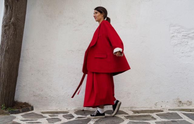 Diana Corrales Hakama Deep Red - LR3