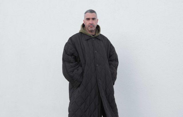Black Padding Coat - LR3