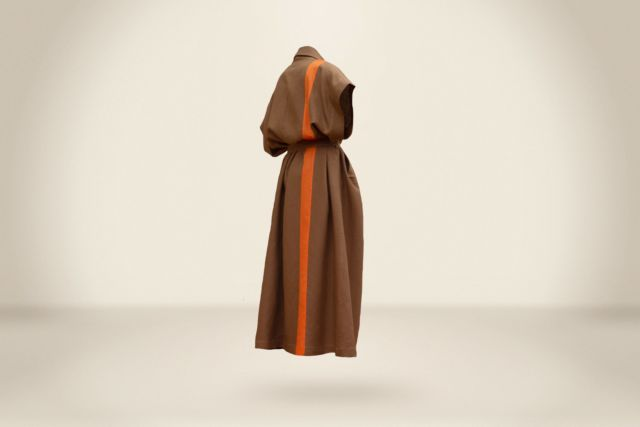 Joaquim Arnell Sleeveless Coat Dark Camel - LR3
