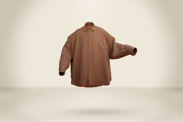Dark Camel Shirt  - LR3