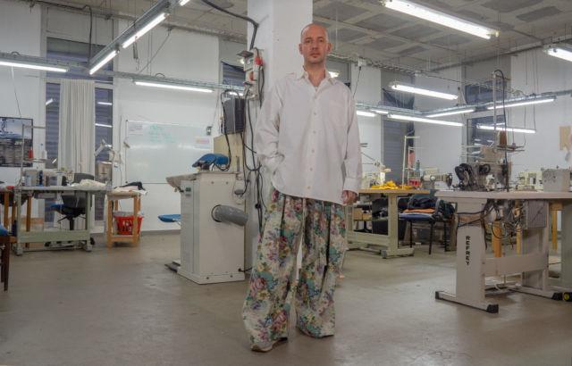 Morad Mehadi Trousers Tapestry - LR3