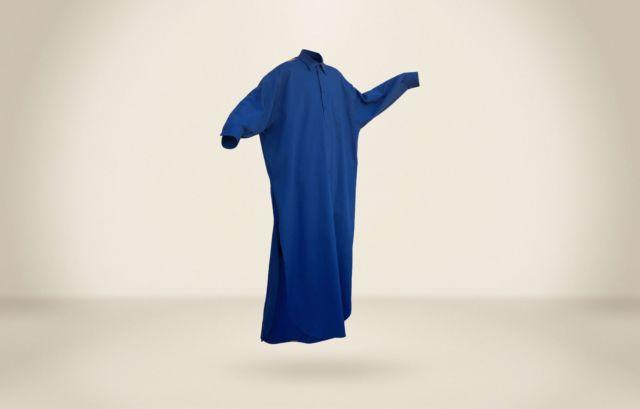 Carlos Fernandez Maxi Dress Cobalt - LR3